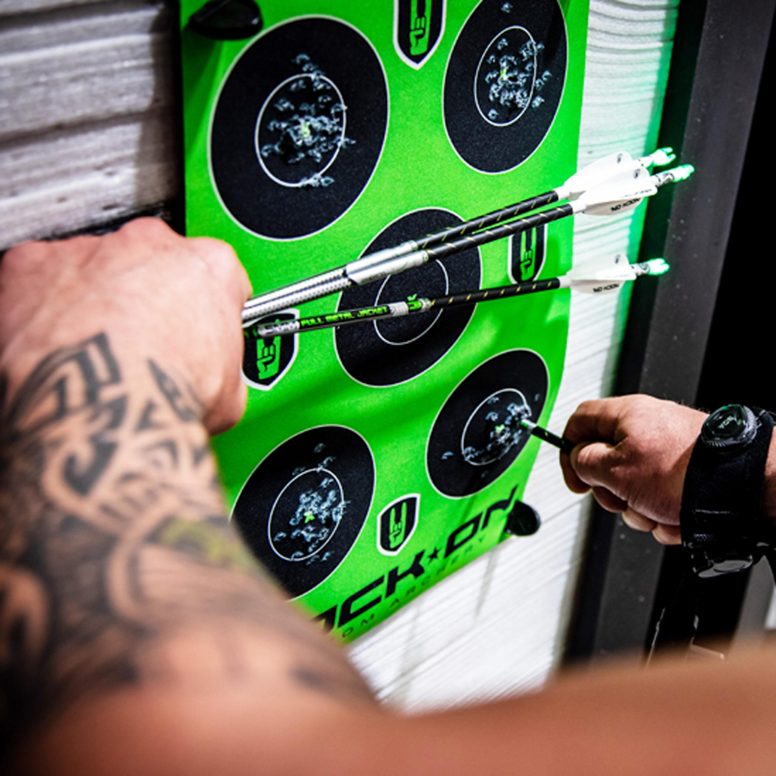 Nock On Archery Targets