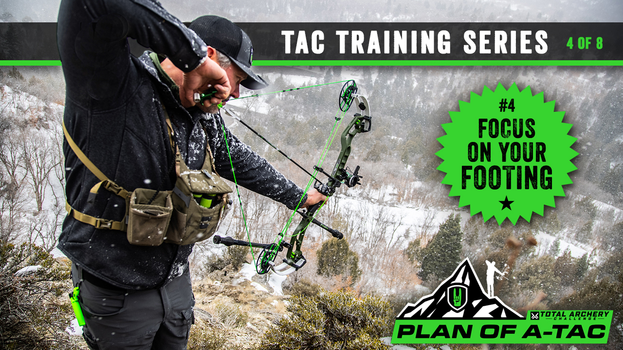 PLAN OF A-TAC: #4, Footing, the Foundation of a Successful Archery Shot